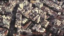 Slow motion, aerial view of Rio de Janeiro
