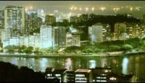Time lapse of small peninsula in Rio de Janeiro, Brazil